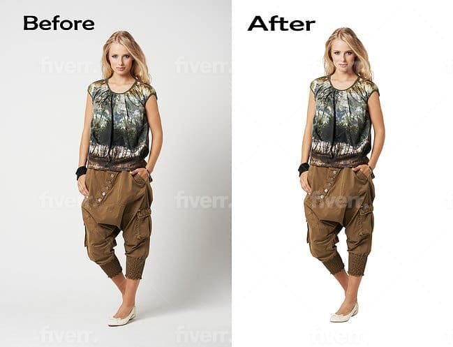I will do product picture editing for ecommerce online store